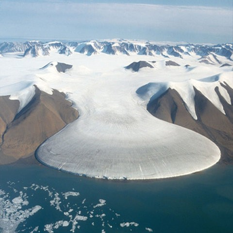 Elephant glacier, Greenland