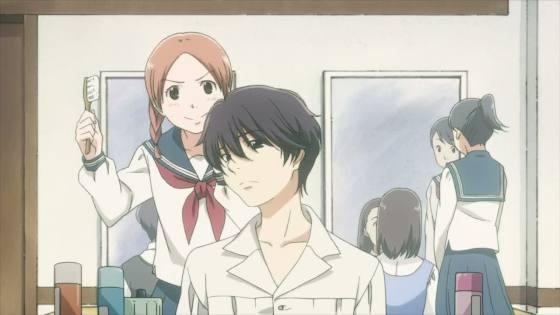 akira-helping-yasuko-with-her-hair